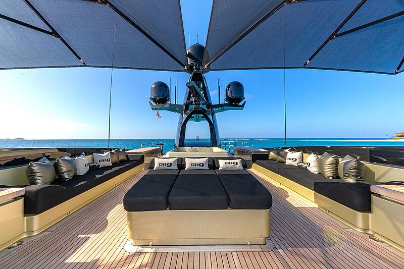 DB9 yacht deck
