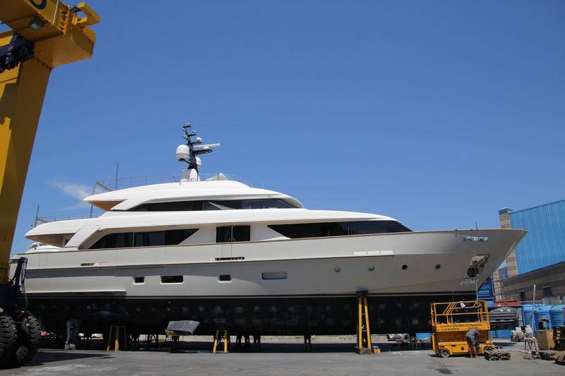 O  yacht Sanlorenzo
