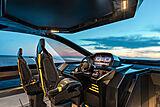 Tecnomar for Lamborghini 63 yacht wheelhouse