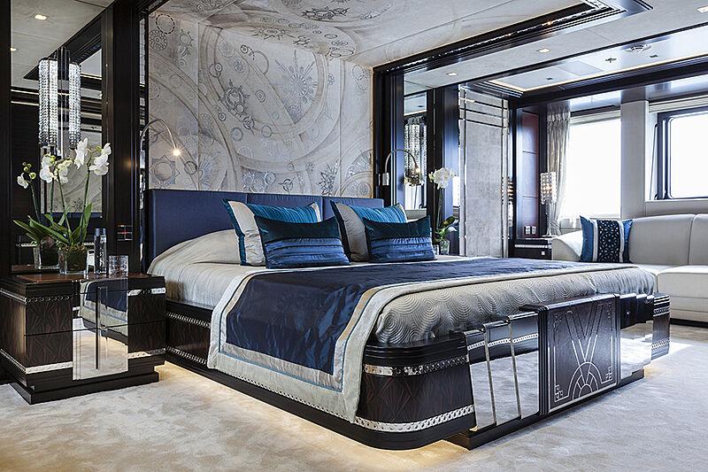 Lady Li yacht stateroom
