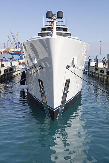 Al Waab II yacht launch in Antalya