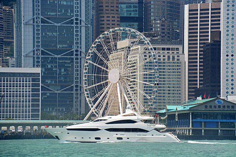 Rhine yacht in Hong Kong