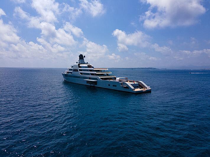 Solaris yacht in Antibes