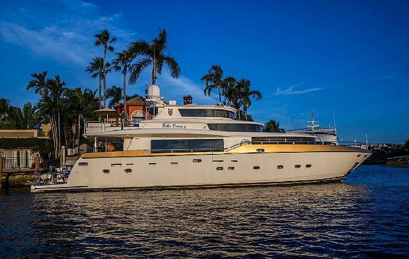Bella Donna II yacht in marina