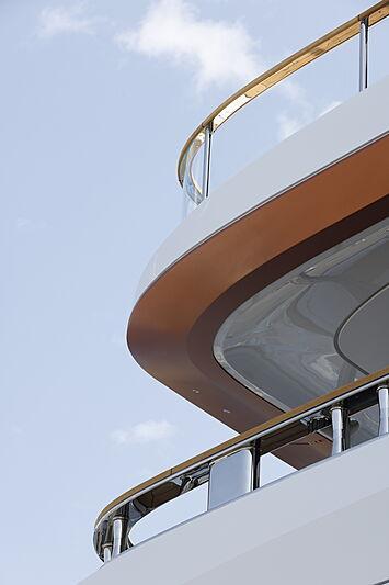 Benetti Motopanfilo 37M #1 yacht exterior detail