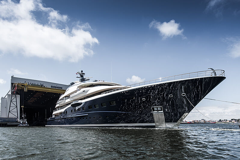 Here Comes the Sun yacht exterior