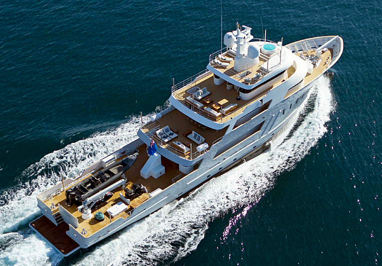 Masquenada yacht cruising