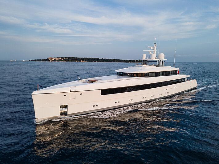 Najiba yacht in the South of France