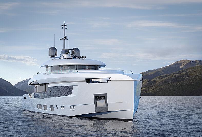 Atlantique 37m yacht model exterior