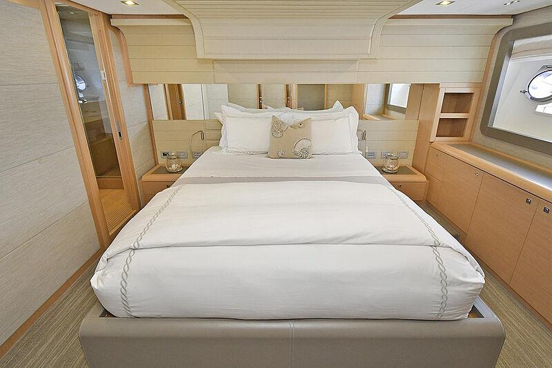 Montrachet yacht stateroom