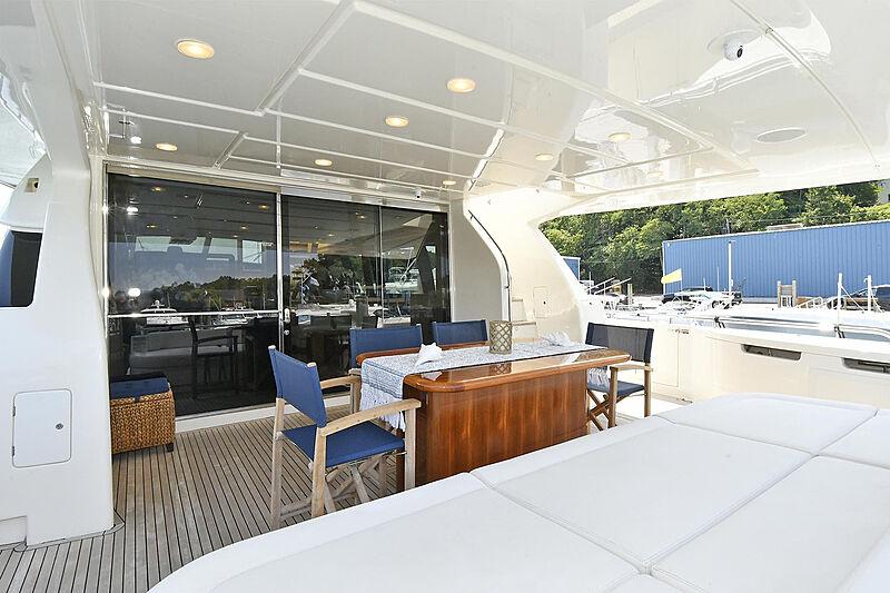 Montrachet yacht aft deck