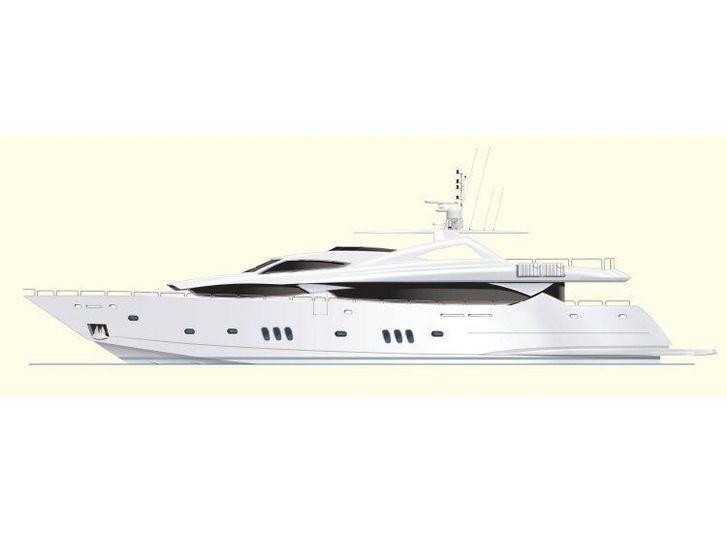 MOON SAND yacht Sunseeker