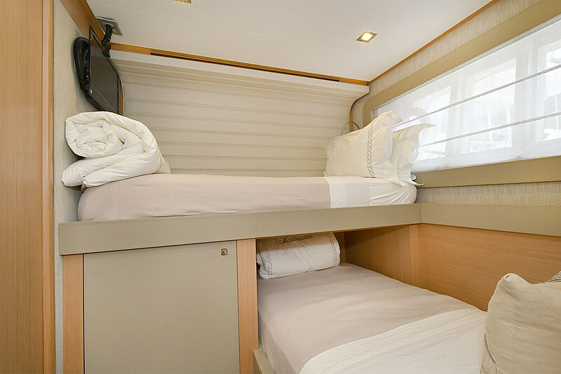 Montrachet yacht interior