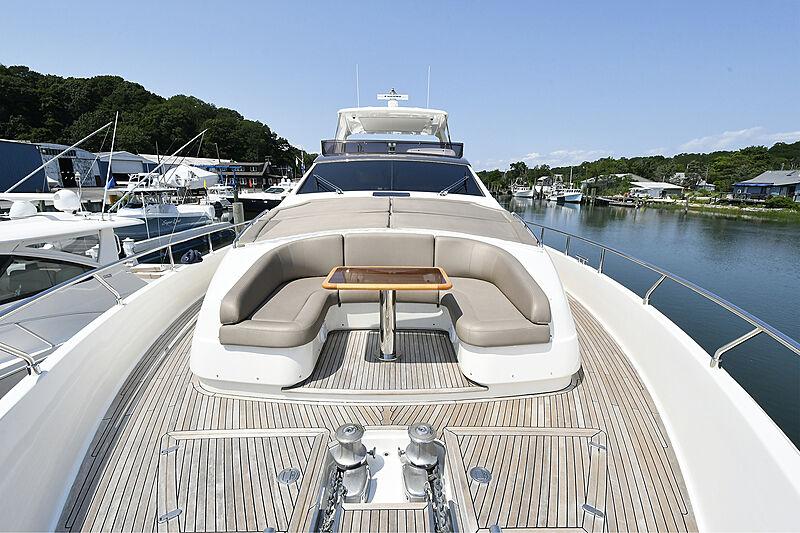 Montrachet yacht deck
