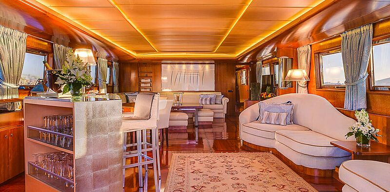 CD Two yacht interior