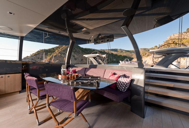 Ngoni yacht aft deck