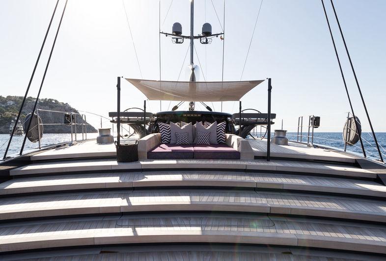 Ngoni yacht deck