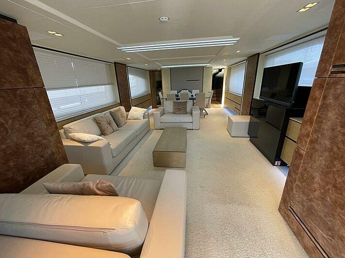 Ozone yacht saloon