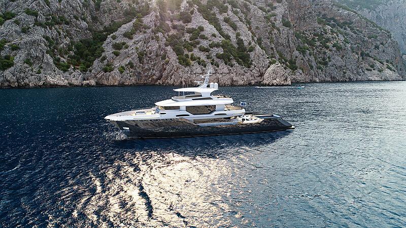 Kando 130XL yacht concept from AvA Yachts