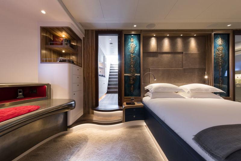 Ngoni yacht stateroom