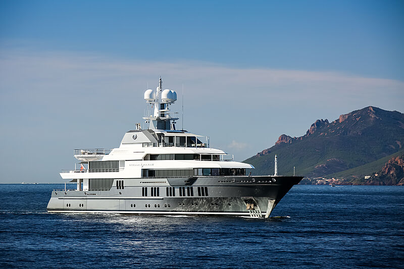 Stella Maris yacht cruising in Théoule-sur-Mer