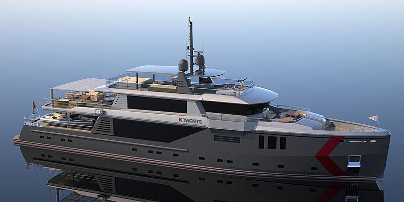 K500 yacht design Yachting Expertise