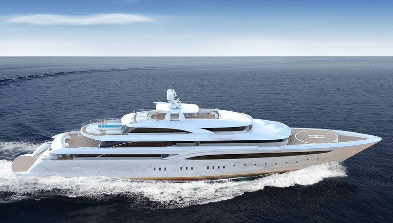 O'Ptasia a new 85m project by Golden Yachts