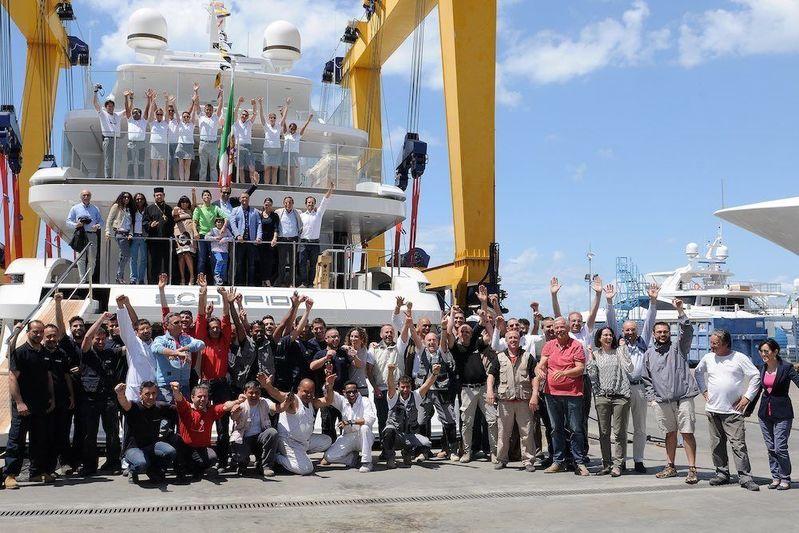 Scorpion launch at SanLorenzo in Viareggio