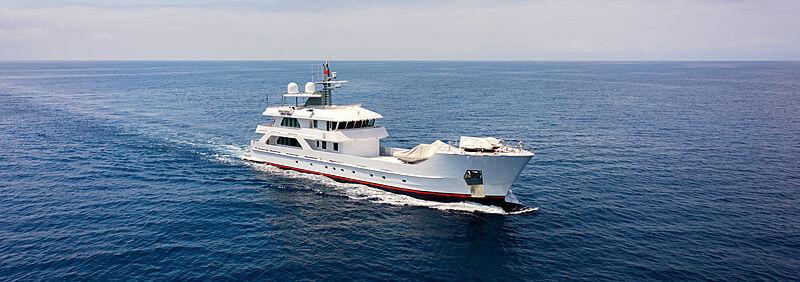 Far Far Away yacht cruising