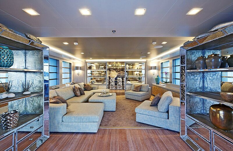 Liberty yacht interior