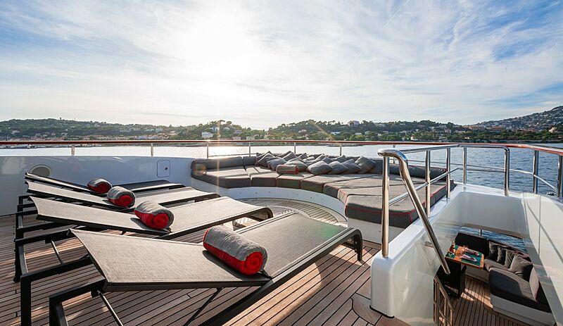 Liberty yacht deck