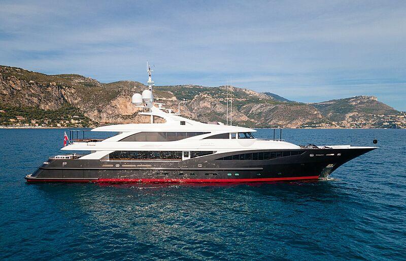 Liberty yacht profile