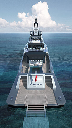 Silver Edge yacht concept from Silver Yachts