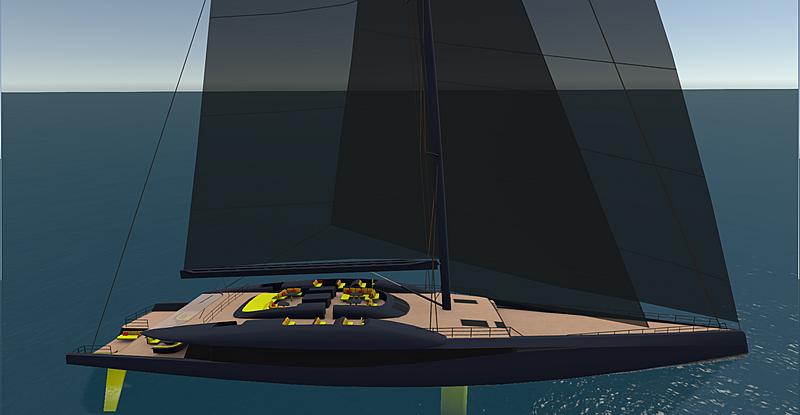 Project Fury concept yacht SYT 3D