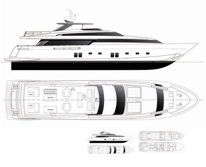 CERVINO yacht Sanlorenzo