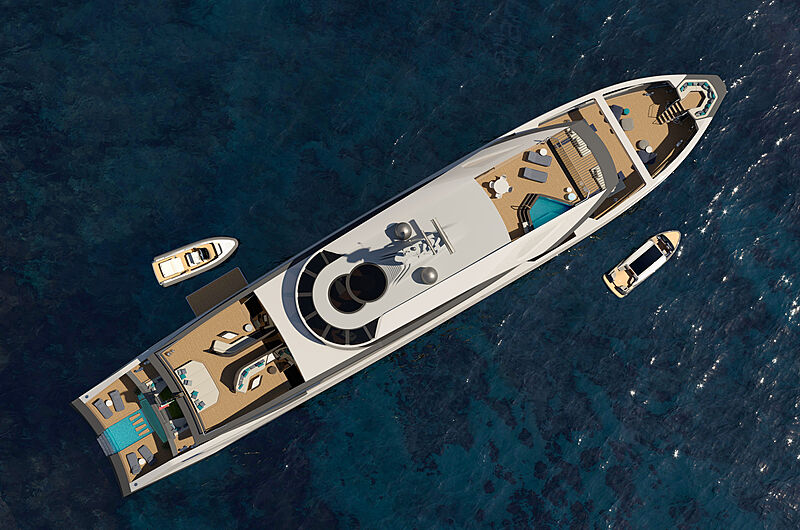 Foreceful yacht concept from Luca Dini Design & Architecture