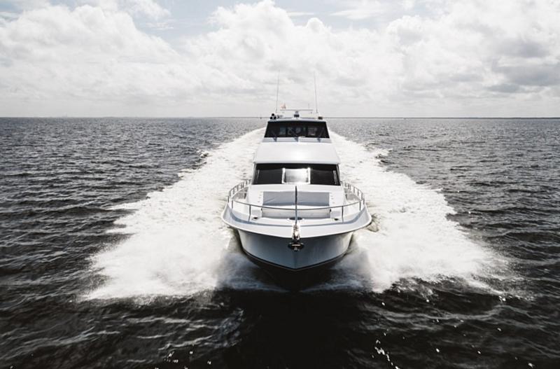 Double Eagle yacht cruising