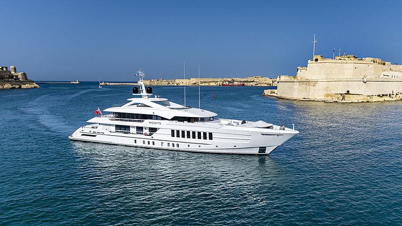 Moskito yacht in Malta