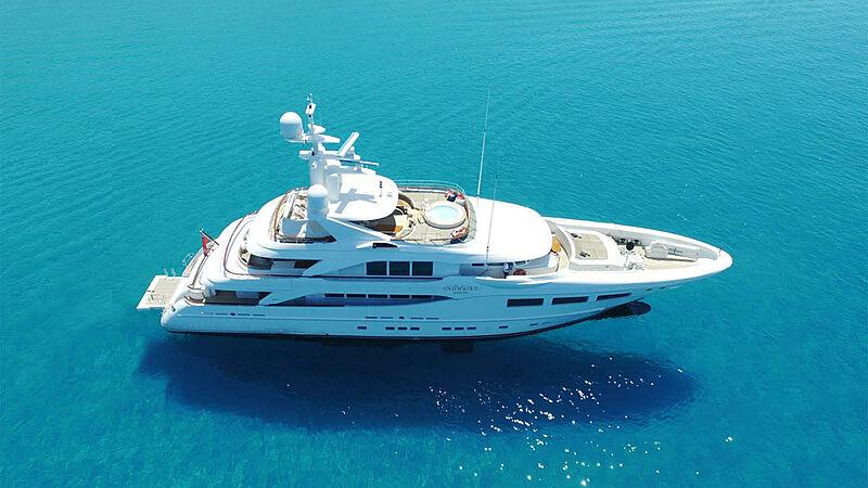 Snowbird yacht exterior