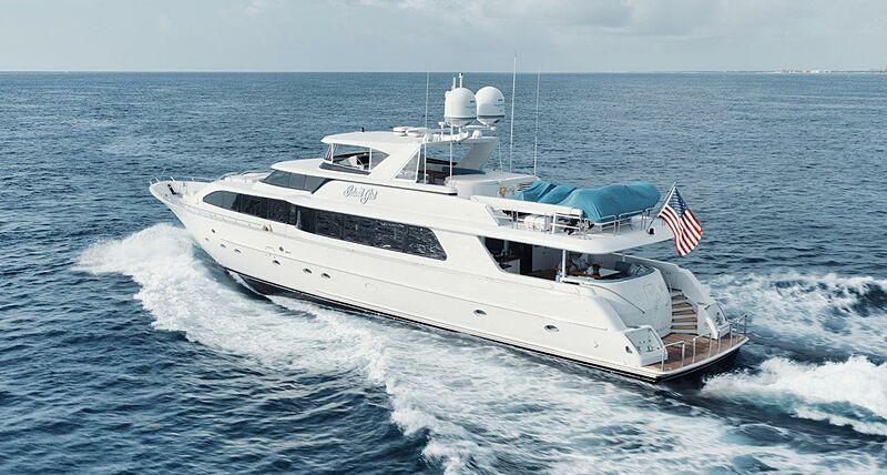 Island Girl yacht cruising