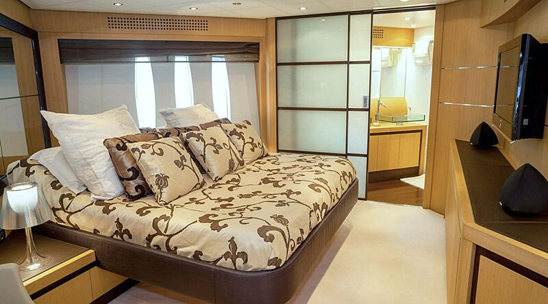 A&O yacht stateroom