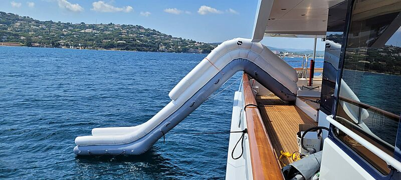 Slide from Superyacht Inflatables of SYTT
