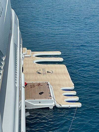 Jet Ski dock from Superyacht Inflatables of SYTT