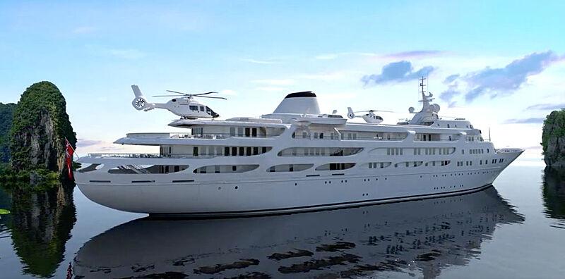 Project Y910 superyacht rendering