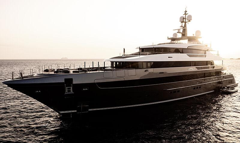 Attila yacht by Sanlorenzo in Golfo Pevero