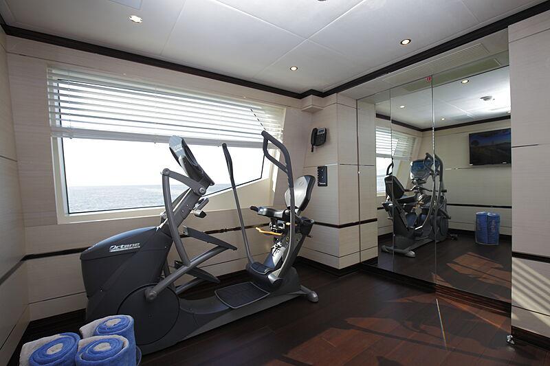 Inspiration yacht gym
