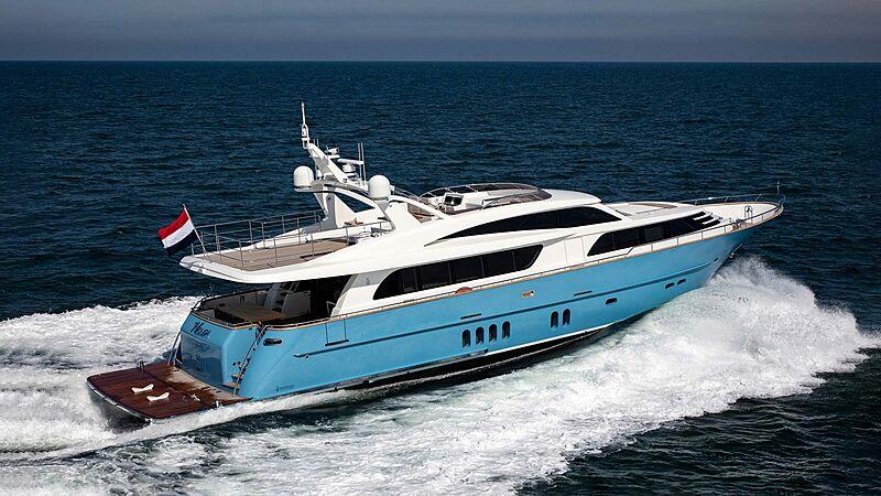 Helga yacht cruising