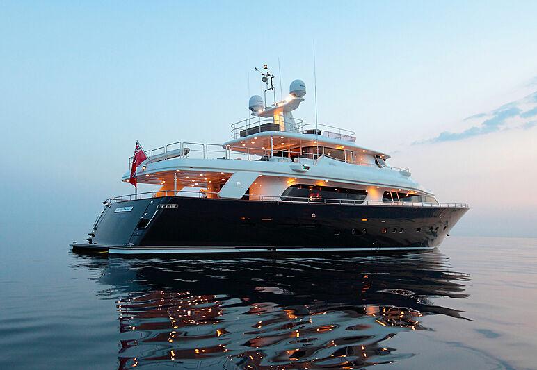 Lady Soul yacht anchored