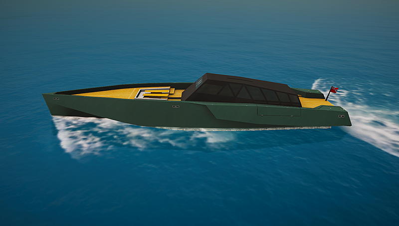 Galeocerdo yacht in SYT 3D