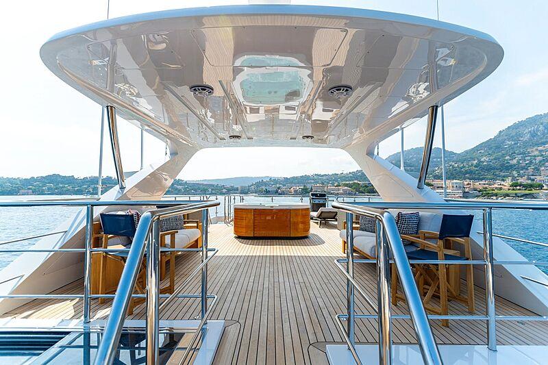 Kelly Ann yacht  sundeck